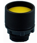 RP2-BA56...GUARDED PLASTIC PUSH BUTTON, YELLOW COLOR
