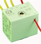 TA2-M/1N...FRONT MOUNTED ELECTRONIC TIMER,  AC/DC VOLTAGE