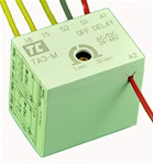TA3-M/1F...FRONT MOUNTED ELECTRONIC TIMER,  24~48V