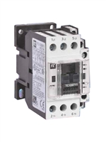 TC1-D0711-V5...3 POLE NON-REVERSING CONTACTOR 400/50VAC, 1 NORMALLY OPEN, 1 NORMALLY CLOSED AUX