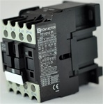 TC1-D1201-M6...3 POLE CONTACTOR 220/60VAC  OPERATING COIL, N C AUX CONTACT