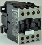 TC1-D2510-G6...3 POLE CONTACTOR 120/60VAC, WITH AC OPERATING COIL, N O AUX CONTACT
