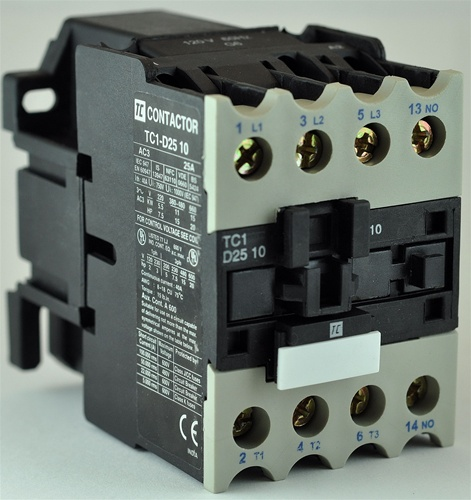 Tc1 d2510 m53 pole contactor 22050vac with ac operating coil tc1 d2510 m53 pole contactor 22050vac with ac operating coil n o aux contact swarovskicordoba Image collections