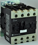 TC1-D40004-E6...4 POLE CONTACTOR 48/60VAC OPERATING COIL, 4 NORMALLY OPEN, 0 NORMALLY CLOSED