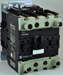 TC1-D40008-L6...4 POLE CONTACTOR 208/60VAC OPERATING COIL, 2 NORMALLY OPEN, 2 NORMALLY CLOSED