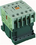 TC1-M0601-U6...MINI CONTACTOR 240/60V, SCREW CLAMP TYPE, AC COIL, 3NO MAIN CONTACTS, 1NC AUX CONTACT