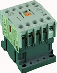 TC1-M0610-W6...MINI CONTACTOR 277/60V, SCREW CLAMP TYPE, AC COIL, 3NO MAIN CONTACTS, 1NO AUX CONTACT