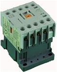 TC1-M0901-W6...MINI CONTACTOR 277/60V, SCREW CLAMP TYPE, AC COIL, 3NO MAIN CONTACTS, 1NC AUX CONTACT