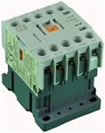 TC1-M0910-G6...MINI CONTACTOR 120/60V, SCREW CLAMP TYPE, AC COIL, 3NO MAIN CONTACTS, 1NO AUX CONTACT