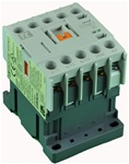 TC1-M1201-W6...MINI CONTACTOR 277/60V, SCREW CLAMP TYPE, AC COIL, 3NO MAIN CONTACTS, 1NC AUX CONTACT