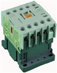 TC1-M1210-G6...MINI CONTACTOR 120/60V, SCREW CLAMP TYPE, AC COIL, 3NO MAIN CONTACTS, 1NO AUX CONTACT