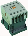 TC1-M1601-G6...MINI CONTACTOR 120/60V, SCREW CLAMP TYPE, AC COIL, 3NO MAIN CONTACTS, 1NC AUX CONTACT