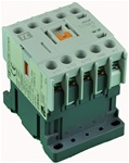 TC1-M1610-W6...MINI CONTACTOR 277/60V, SCREW CLAMP TYPE, AC COIL, 3NO MAIN CONTACTS, 1NO AUX CONTACT