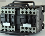 TC2-D1801-G6...3 POLE REVERSING CONTACTOR 120/60VAC, WITH AC OPERATING COIL, N C AUX CONTACT