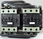 TC2-D8011-G7...3 POLE REVERSING CONTACTOR 120/50-60VAC, WITH AC OPERATING COIL, N O & N C AUX CONTACT
