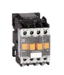 TCA2-DN22-N5 (415/50VAC) AC Control Relay, 2 Normally Open, 2 Normally Closed Contacts