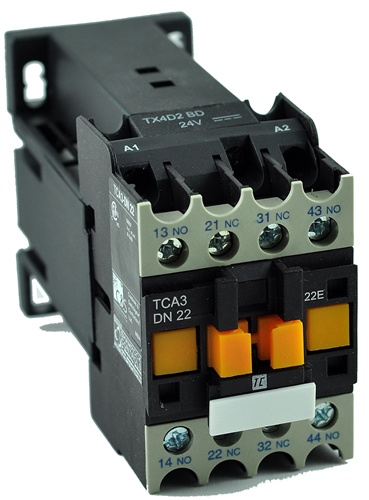 TCA3-DN22-SD (72 VDC) DC Control Relay, 2 Normally Open, 2 ... on toggle relay, testing a relay, building a relay, wiring diodes, fuel pump relay, wiring an occupancy sensor, wiring diagram, wiring switch, dpdt relay,