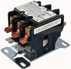 TCDP203-G6 (120/60VAC)...DEFINITE PURPOSE 3-POLE CONTACTOR 120/60VAC