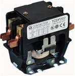 TCDP302-G6 (120/60VAC)...DEFINITE PURPOSE 2-POLE CONTACTOR 120/60VAC