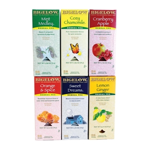 R C Bigelow 17578 Assorted Decaf Tea