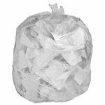 Clear 3 Ply Compactor Bags - 40 in. x 58 in.