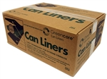 Clear Can Liners - 57 in. x 61 in.