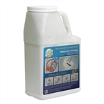 Dispenser Polyethylene White Empty Bottle - 3 lb.
