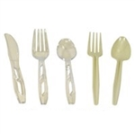 Mediumweight Polystyrene White Spoon Retail Sunny Pack - 6 in.