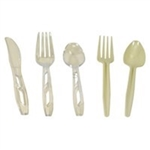 Mediumweight Polystyrene White Knife Retail Sunny Pack - 6 in.