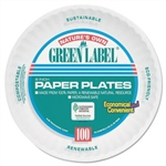 White Paper Plate - 6 in.
