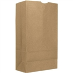 Kraft 4 lb. Paper Bag - 5 in. x 3.13 in. x 9.75 in.