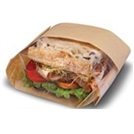 Dubl View ToGo Deli Bag Natural - 5.75 in. x 2.75 in. x 9.5 in.