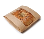 EcoCraft Single Portion Window Bag Grease Resistant -  6.5 in. x 2 in. x 8.5 in.