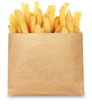 EcoCraft French Fry Bag Natural - 5.5 in. x 4.5 in.