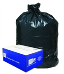 LLDPE Can Liner 1.2 Mil Black - 28 in. x 45 in.