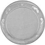 Designerware Plastic Plate Clear - 6 in.
