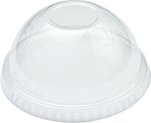 Solo Ultra Clear Lid Dome No Hole