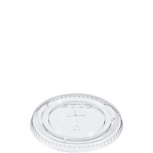 Solo Ultra Clear Straw Slot Lid