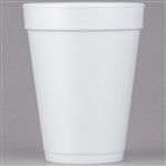 J Cup Insulated Foam Cups White - 14 Oz.