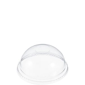 Solo Ultra Clear Dome No Hole Lid
