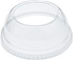 Clear PET Dome Lid For TP9R, TP12, TR16, TN20, TN22, RTP9R Plastic Cups