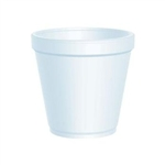 Expanded Polystyrene Insulated Food Container - 16 oz.