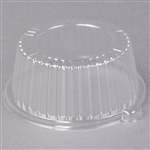Dome Lid Plastic 6 in. For Plate and 12 Oz. Bowl