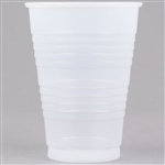 Conex Galaxy Polystyrene Translucent Tall Cold Cups Plastic - 12 Oz.
