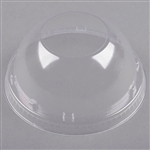 Clear Dome With 1.9 in. Hole Lids for Foam Cups and Containers