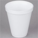 Insulated Foam Cups White Medium - 12 Oz.