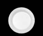 Laminated Foam Plastic Dinnerware Plate White - 6 in.