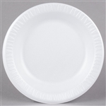 Extruded Polystyrene Round Reduced Cube Quiet Classic Plate Laminated White - 10.25 in.
