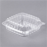 ClearSeal Hinged Lid Containers Clear - 8.9 in. x 9.4 in. x 3 in.