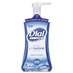 Dial Complete Antibacterial Foam Lotion Soap Spring Water - 7.5 Oz.